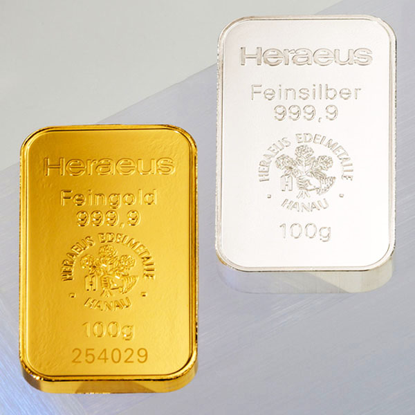 bullion, gold bar, silver bar